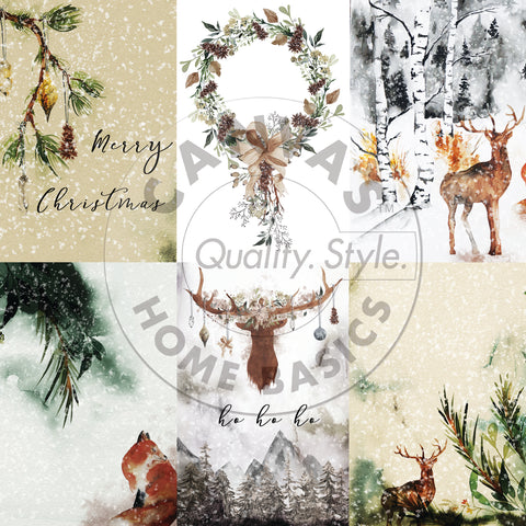 rustic holiday paper