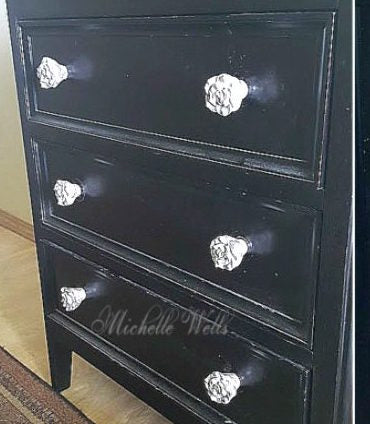 how to make shabby chic dresser knobs