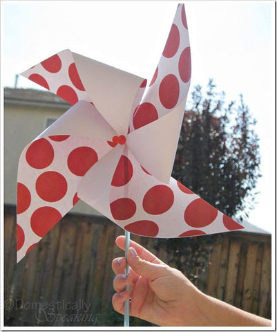 paper pinwheel how to make