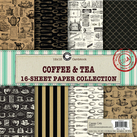 coffee themed papers