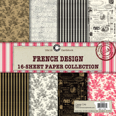 french printed papers