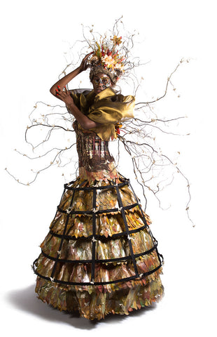 paper dress form by Candy Rosenberg