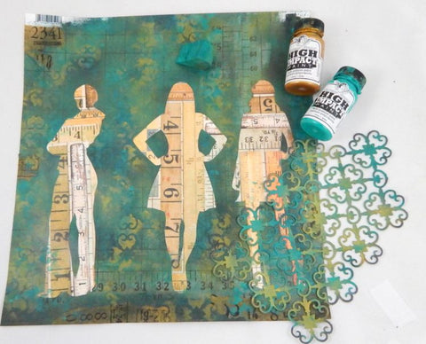 vintage mixed media ideas