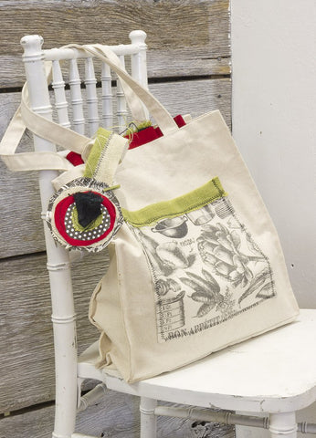 farmhouse tote bag