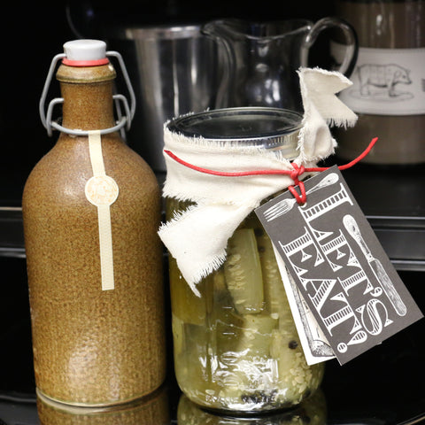 handmade food tags and signs hostess gift ideas canning jars