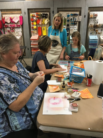 craft classes in NW Arkansas
