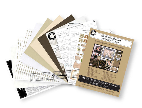 home office scrapbooking room and studio planning kit