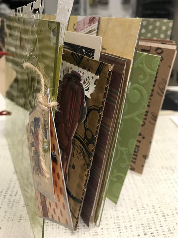holiday junk journal
