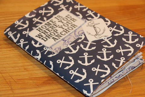 nautical junk journal