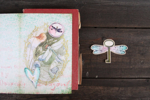 dragonfly junk journal
