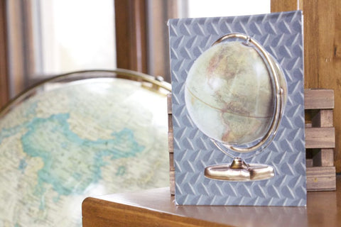 Architextures Globe - Treasure - vintage find