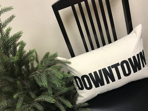 custom hometown pillows - wholesale pricing