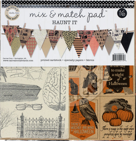 halloween mixed media ideas