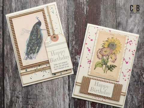 birthday cards with tags