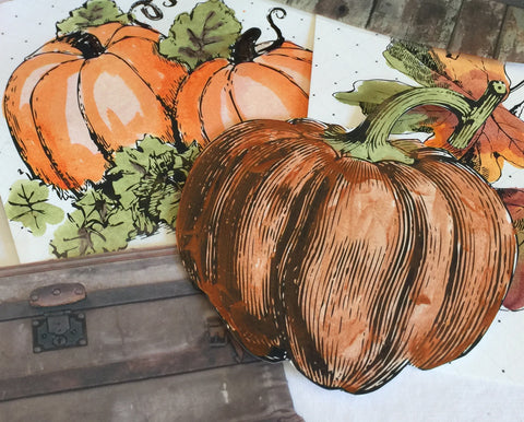 paint your own pumpkin