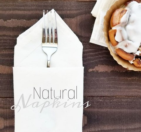 natural cotton napkins
