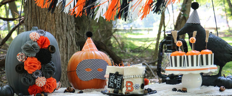 handmade party decor ideas Halloween