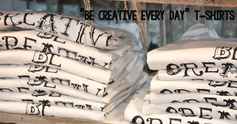 be creative every day