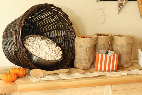 burlap party decor ideas
