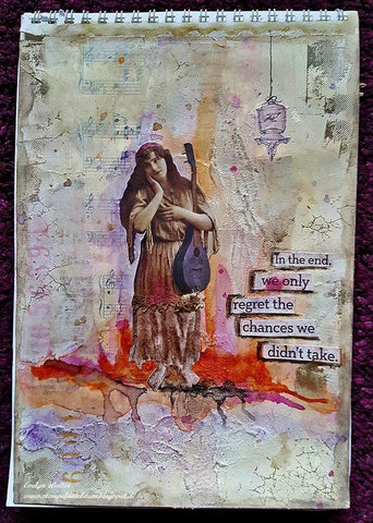 gypsy journal page