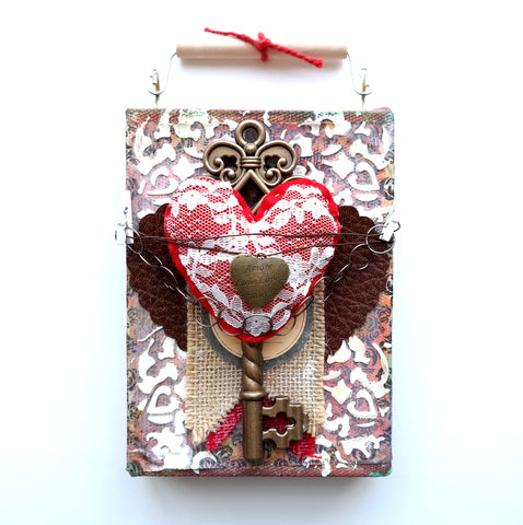Valentine Mixed Media Ideas