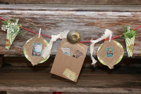make your own wedding bunting