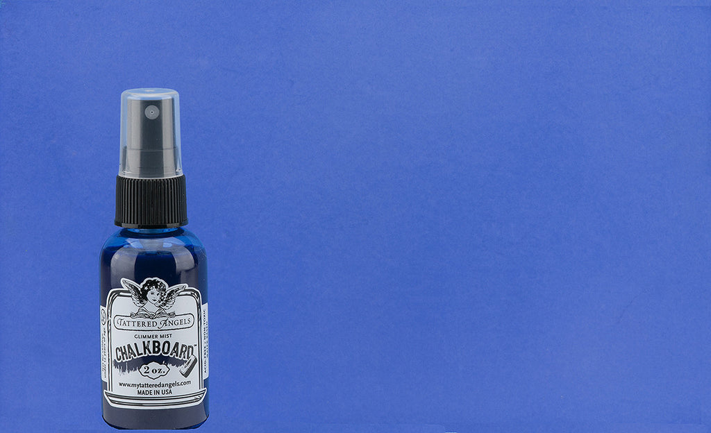 Chalkboard Mist Paint - Blue Ribbon