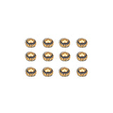 7gypsies Studs: Dome: Antique Brass
