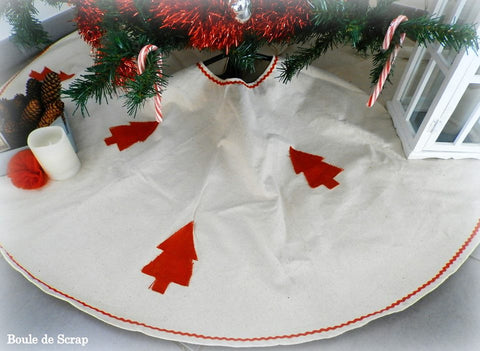 Canvas Tree Skirt