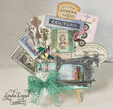 Architextures™ Treasures - Vintage Sewing Machine