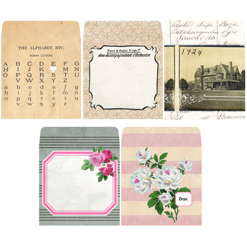 7gypsies Tag Envelopes: Trousseau (10 pieces)