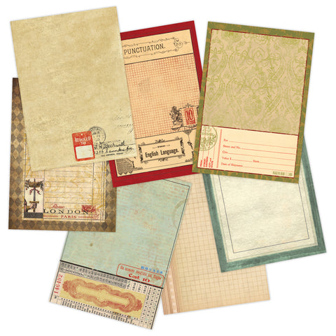 7gypsies Journal Pages: Vintage
