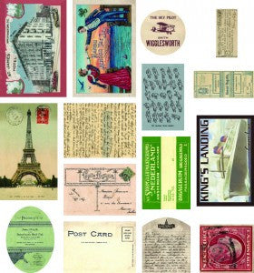 7gypsies Mini Ephemera - Correspondence