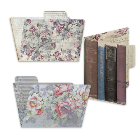 7gypsies 4x6 Printed File Folders - Gypsy Moments (6pcs)