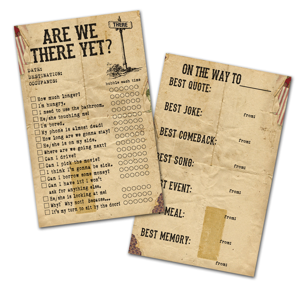 7gypsies Gypsy Moments Cards: Are We There Yet?