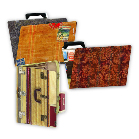 7gypsies ATC Printed File Folders -  Wanderlust (6 Pieces)