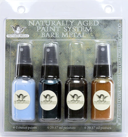 Naturally Aged Kit - Weathered Copper (Bare Metal Faux Finish Paint Kit)