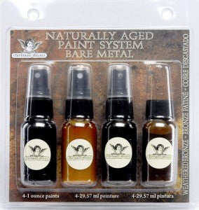 Naturally Aged Kit - Weathered Bronze Fine Metal Faux Finish Paint Kit