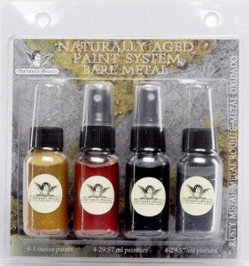 Naturally Aged Kit - Rusty Metal (Faux Finish Paint Kit)
