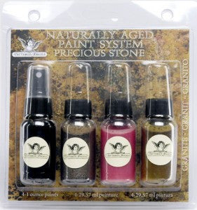 Naturally Aged Kit - Granite (Precious Stone Faux Finish Paint Kit)