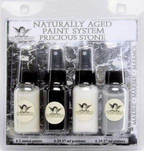 Naturally Aged Kit - Marble (Precious Stone Faux Finish Paint Kit)