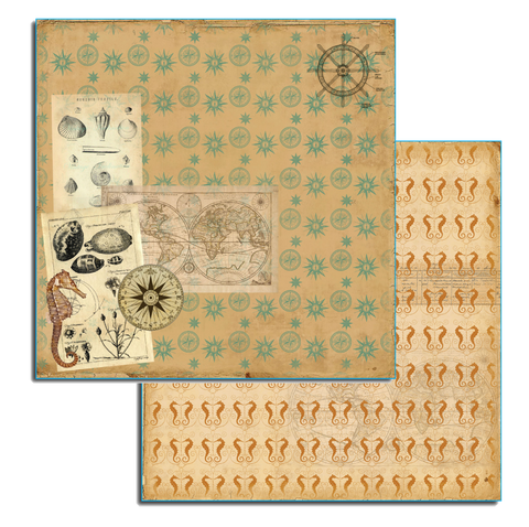 7gypsies Maritime: 12x12 Boussole (compass)