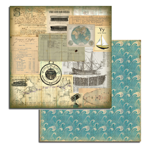 7gypsies Maritime: 12x12 Voilier (sailing ship)