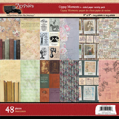 7gypsies Gypsy Moments 8x8 Paper Pad (48 Sheets)