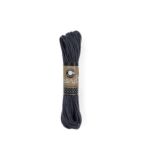 Cord - Waxed Cotton - Dark Blue 45'