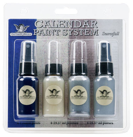 Tattered Angels Calendar Kit Paint System Snowfall