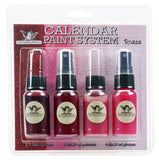 Tattered Angels Calendar Kit Paint System Roses
