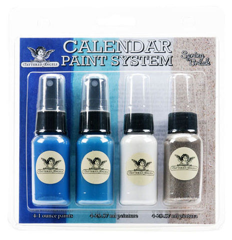 Tattered Angels Calendar Kit Paint System Spring Break