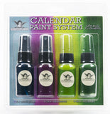 Tattered Angels Calendar Kit Paint System Spring Flowers