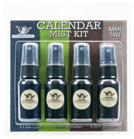 Tattered Angels Calendar Mist Kit - Man Cave